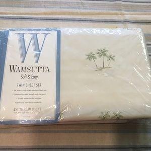 BOGO Wamsutta Soft & Easy Twin Sheet Set